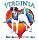 Virginia Jack Russell Terrier Club Logo